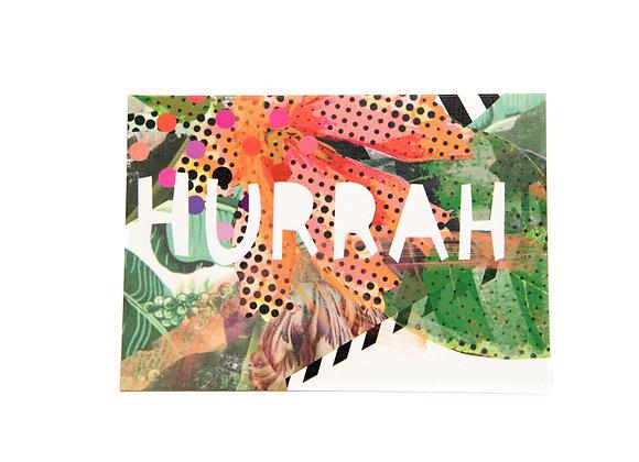 Hurrah Card