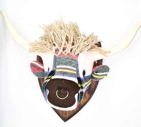 Highland Cow Head