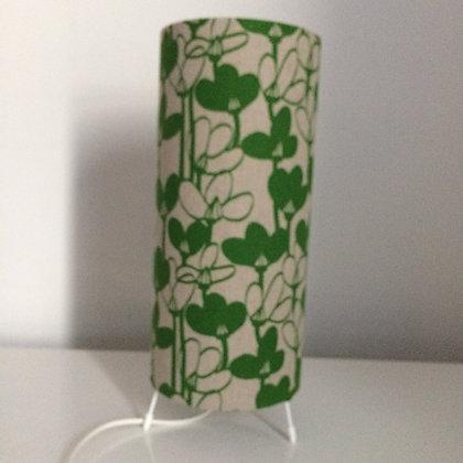 Snowdrops Green Lamp