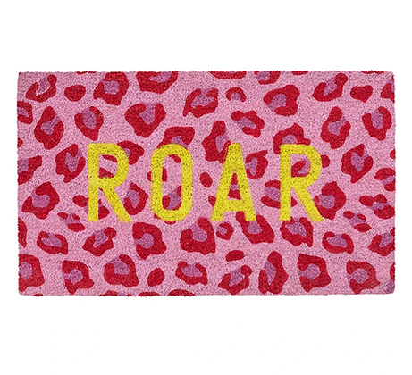Roar Door Mat