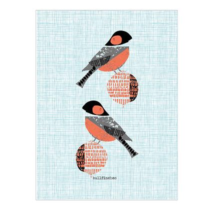 Bullfinches Print