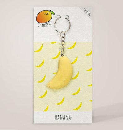 Banana Keyring