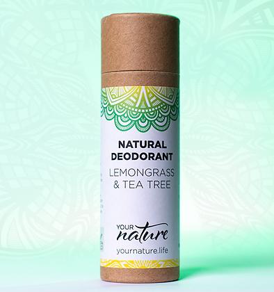 Lemongrass & Tea Tree Deodorant