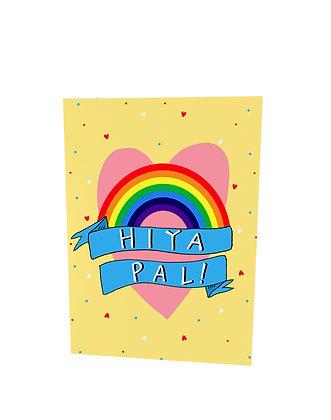 Hiya Pal Card