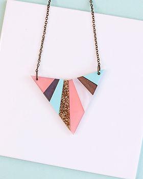 Pastel Glitter Arrowhead Necklace.jpg
