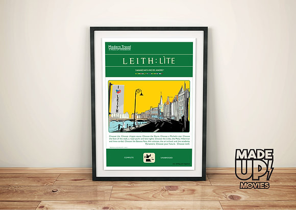 Leith:Lite Movie Poster Print
