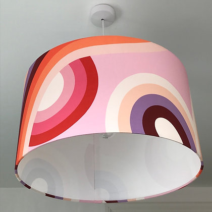 Mellow Red Drum Lampshade
