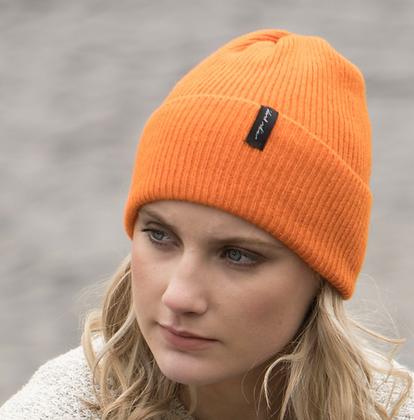 Orange hat by Island Nation