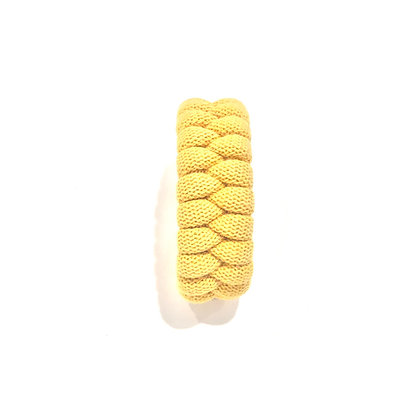 Knotted Bracelet in Mustard Yellow