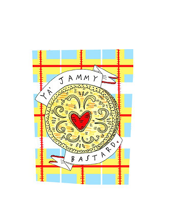 Jammy B***ard Card