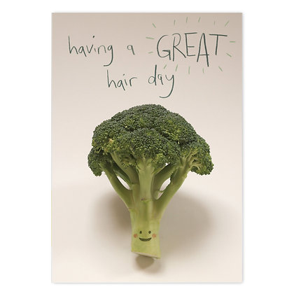 Great Hair Day Card