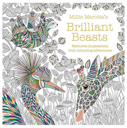 Brilliant Beasts Colouring Book