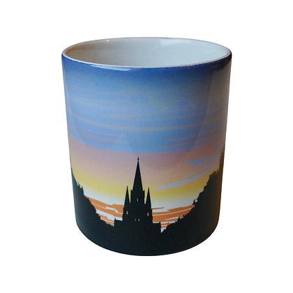 Cathedral Sun, Edinburgh Mug