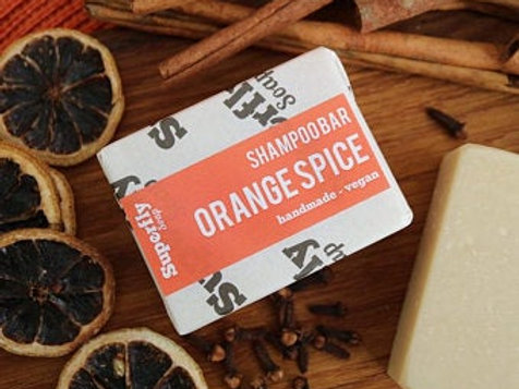 Orange Spice Shampoo Bar