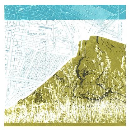 Edinburgh Crags Print