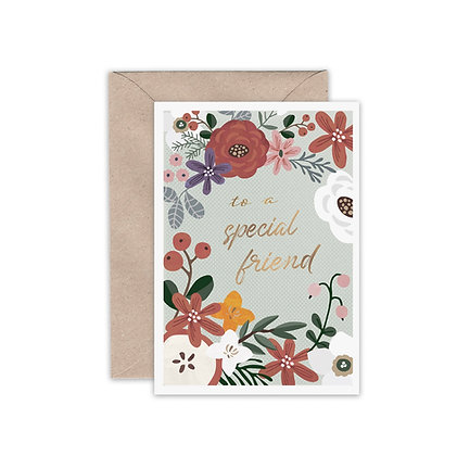 Special Friend Card