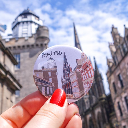 Royal Mile Magnet