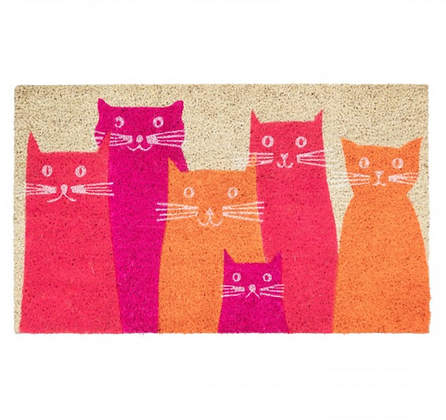 Cool Cats Door Mat