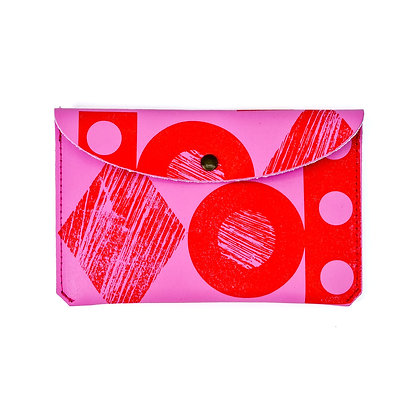 Shapes Purse Pink / Red