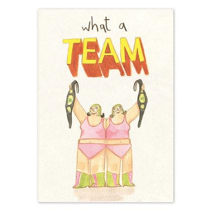 What a Team (Female) Card