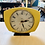 Thumbnail: Upcycled Clock Yellow