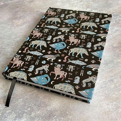 Pictish Symbol A5 Hardback plain Notebook/Sketchbook