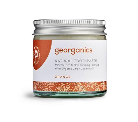 Geogranics toothpaste orange