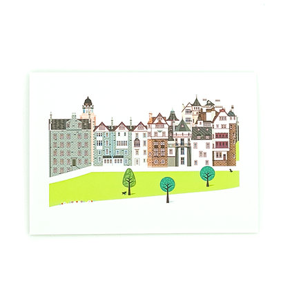 Love That View Card Edinburgh