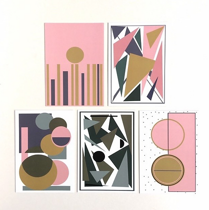 Geometric Art Card Pack (Mix 2)