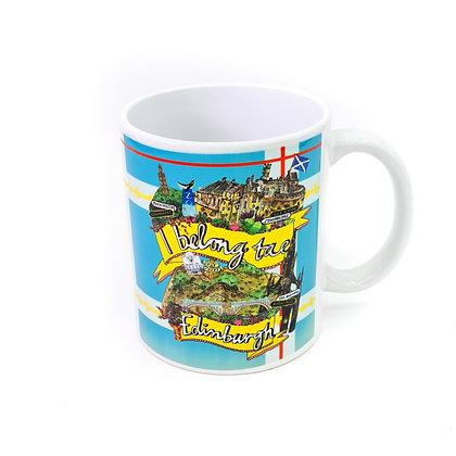 I Belong tae Edinburgh Mug