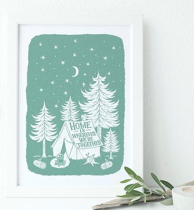 Home Together Print