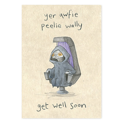 Get Well Soon Card by The Grey Earl