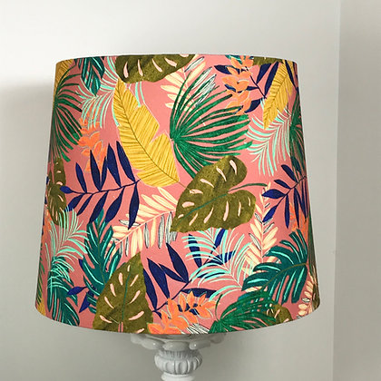 Tropical Leaves Empire Lampshade