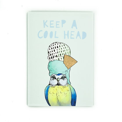 Keep a cool head card