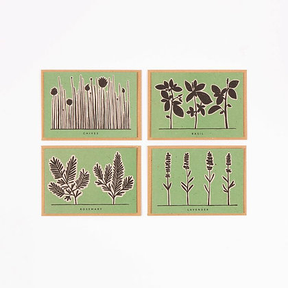 Herb Recipe Notecards