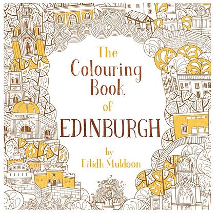 Colouring Book of Edinburgh