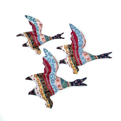 Flying Ducks - Autumn