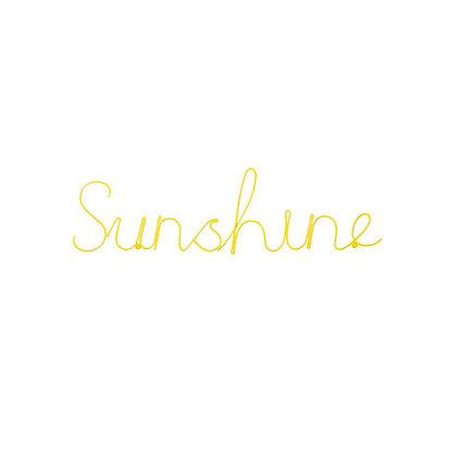 Sunshine Word Art