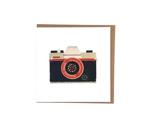 Red Camera Card