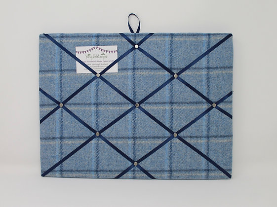 Blue Noticeboard in Tweed