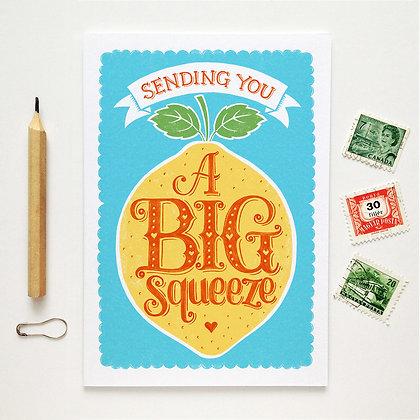 Big Squeeze Card