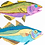 Thumbnail: British Fish Riso Print