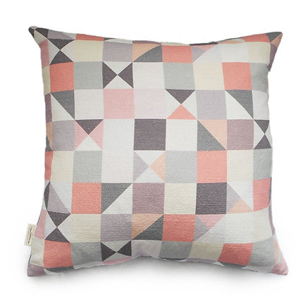Pastel  Geometric Cushion
