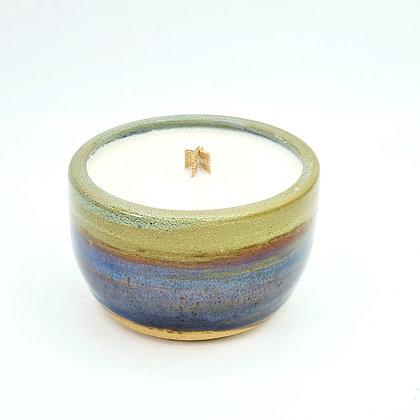 Stoneware Candle - Pecan Pie
