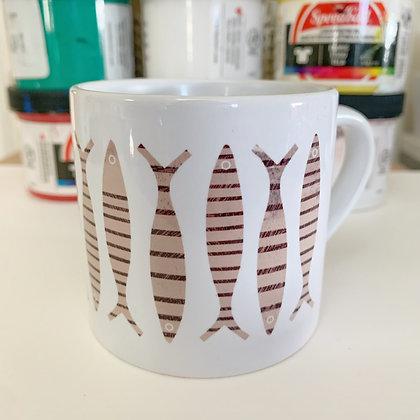 Sardines Mini Mug
