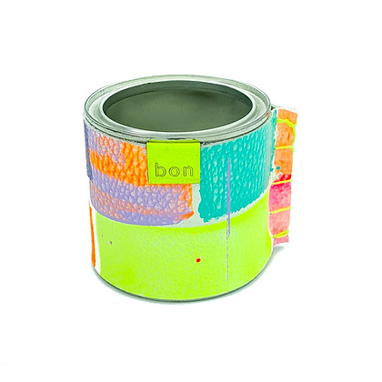 Small Tin Pot - Neon 1