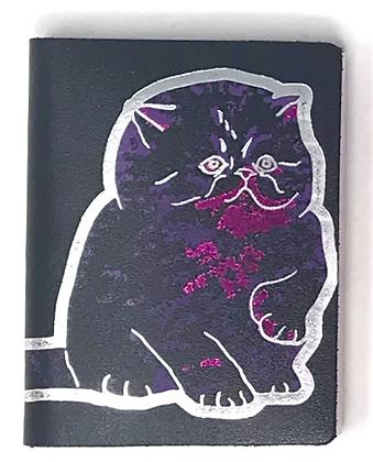 Cat Notebook Black