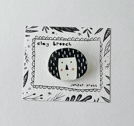 Betty Clay Brooch