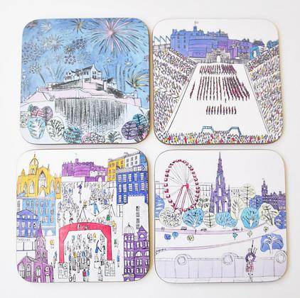 Edinburgh Festival Coasters