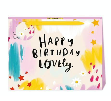 Happy Birthday Lovely Gift Bag